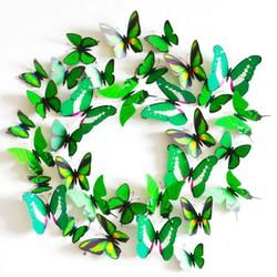 Bộ 12 bướm 3D trang trí phòng độc đáo
