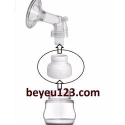 Phụ kiện hút sữa chuyển đổi cổ bình hẹp sang rộng cho máy hút sữa điện