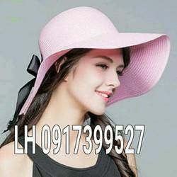 mũ nón rộng vành đi biển phong cách thái lan K79RV325