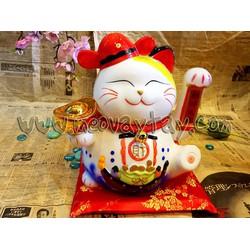 Mèo Vẫy Tay Maneki Neko thần tài