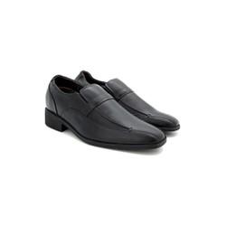 Giày nam tăng chiều cao  Huy Hoàng màu đen-HS7714