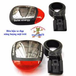 Đèn hậu xe đạp năng lượng mặt trời