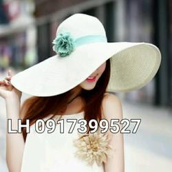 mũ nón rộng vành đi biển chống tia UV K79RV338