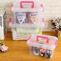 Hộp nhựa gia dụng, Combo 1 bộ gồm 3 hộp KT khác nhau