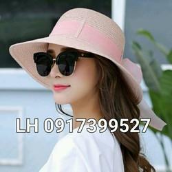 mũ nón rộng vành đi biển chống tia UV K79RV336