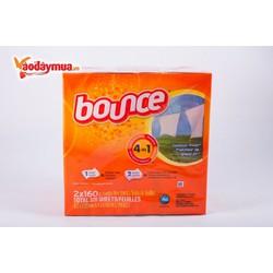 Giấy thơm quần áo Bounce 4 trong 1 160 tờ của Mỹ
