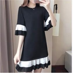 Đầm Suông Thời Trang phong Cách Hàn - D0125