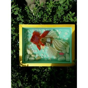 Tranh cá 3D quà tặng ý nghĩa