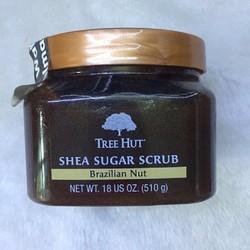Tẩy Tế Bào Chết Toàn Thân Tree Hut Shea Sugar Scrub Brazilian Nut