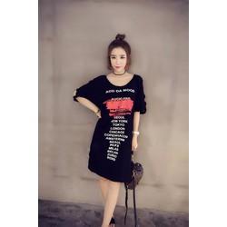 Đầm Suông Khoét Tay