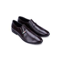 Giày nam Huy Hoàng  màu nâu-HS7124