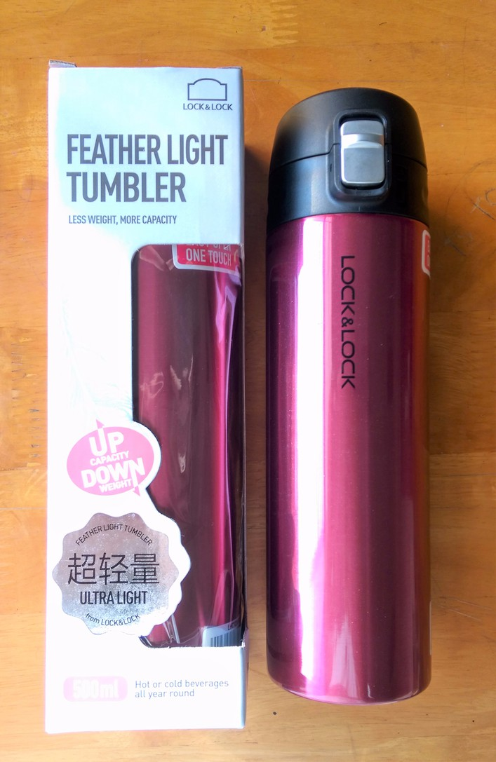 Bình giữ nhiệt Lock and Lock Feather Light 500ml 1