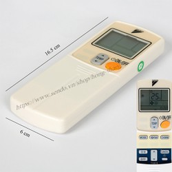 Remote máy lạnh Daikin-  1 cục