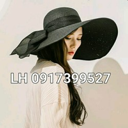 mũ nón rộng vành đi biển chống tia UV K79RV329