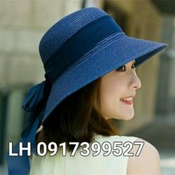 mũ nón rộng vành đi biển chống tia UV K79RV340