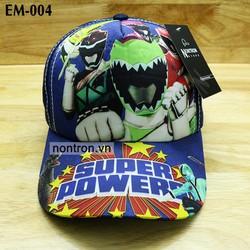 Nón trẻ em Super siêu nhân cao cấp