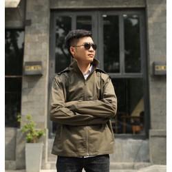 áo khoác chống nắng nam vải kaki