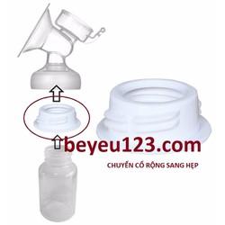 Phụ kiện hút sữa chuyển đổi cổ bình rộng sang hẹp cho máy hút sữa điện