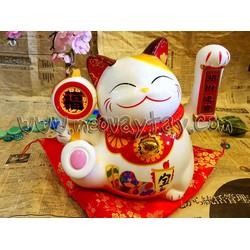 Mèo Vẫy Tay Maneki Neko chiêu tài