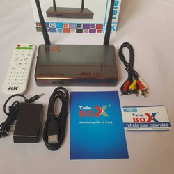 Android box cao cấp Telebox X1 biến tivi thường thành Smart tivi
