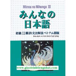 Minnano nihongo II – Bản dịch và giải thích ngữ pháp Tiếng Việt Tập 2
