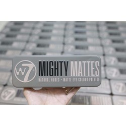 Phấn Mắt W7 Mighty Matte Natural Nudes Eye Colour Palette