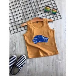 BB024N_Ba lỗ in hình xe hơi cho bé trai