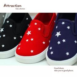 Giày trẻ em ngôi sao cho cả bé trai và gái