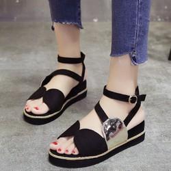Giày Sandal Nữ quai chéo kiểu dáng thời trang mẫu mới nhất - XS0434
