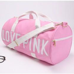 Túi trống thể thao Love Pink