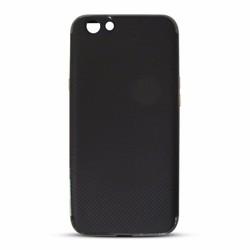 Ốp lưng chống sốc Oppo A59 viền màu xám