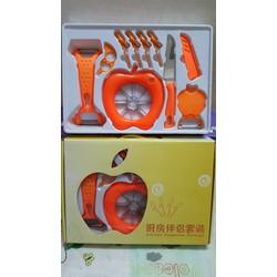 Bộ dụng cụ cắt gọt hoa quả 10 món