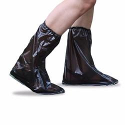 Giày đi mưa nữ bo chân tiện dụng