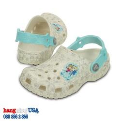 Giày C-rocs cho bé gái_Frozen Anna n Elsa Oyster Classic Clog