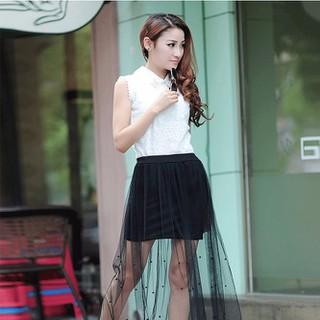 Đầm Style Đính Hạt Cườm - MS281 thumbnail