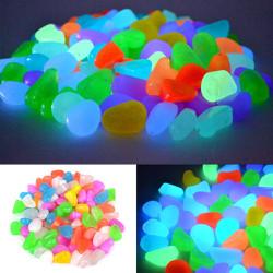 Bộ 100 viên Sỏi phát sáng ,sỏi dạ quang chuyên dụng cho bể cá