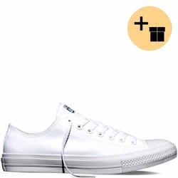 Giày Sneaker CK2 Trắng Cổ Thấp - Nam