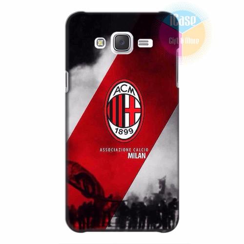 Ốp lưng Samsung Galaxy J5 in hình CLB AC Milan