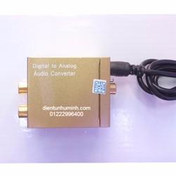 Bộ chuyển optical to AV + 3mm tặng dây optical và dây av