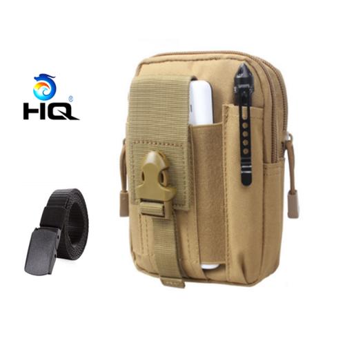 Túi đeo hông đi phượt đa năng + thắt lưng dù chiến thuật hq 80tu57-915 4c