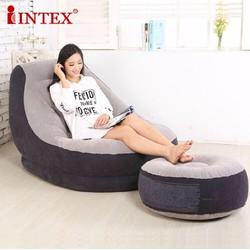 Bộ ghế đệm hơi thư giãn cao cấp Intex kèm bơm điện