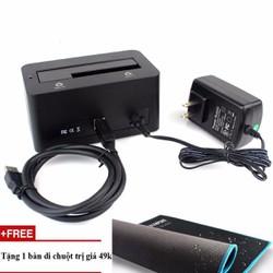 Thiết bị cắm nóng ổ cứng Orico 6619US3+Tặng bàn di chuột