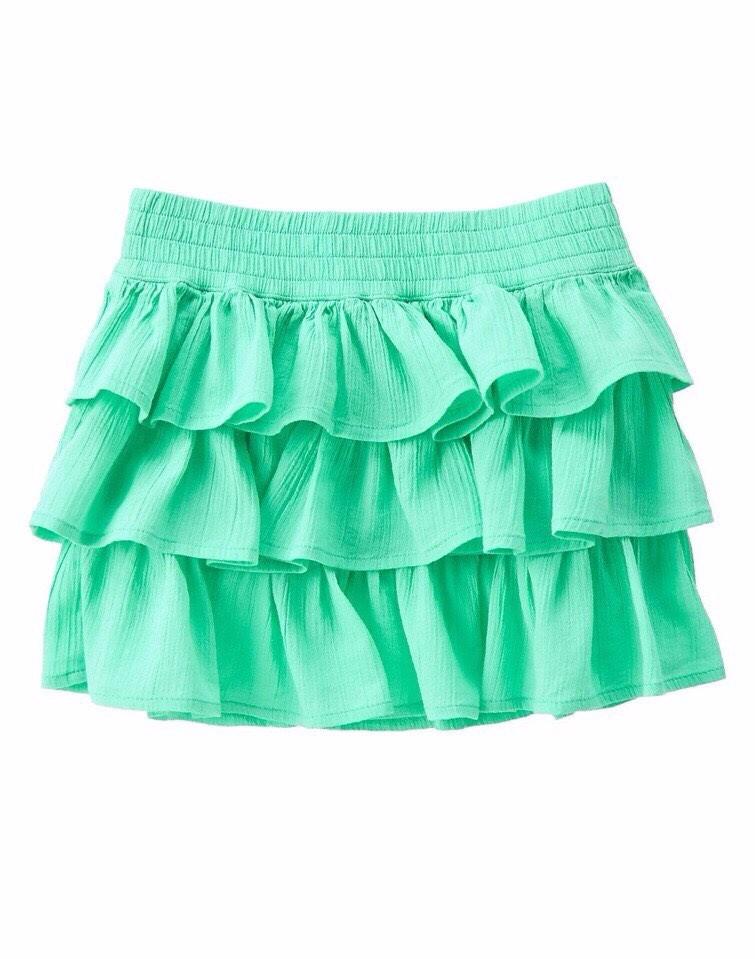 Chân váy tầng vải kate Crazy8 cho bé gái 4-10T V163 2