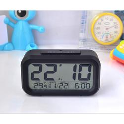 Đồng hồ điện tử báo thức LCD