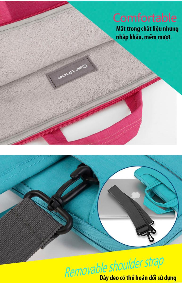 Túi laptop thời trang cao cấp Cartinoe Starry 13.3 inch 11