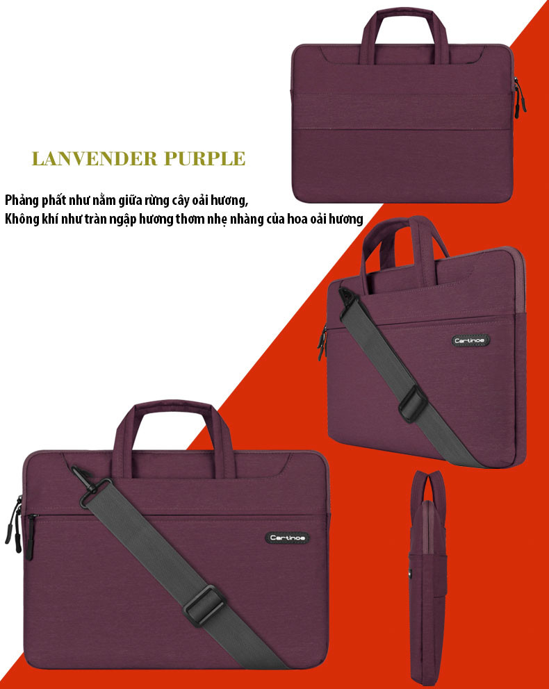 Túi laptop thời trang cao cấp Cartinoe Starry 13.3 inch 5