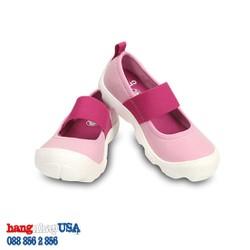 Giày C-rocs cho bé gái_Pink n Fuchsia Duet Busy Day Mary Jane