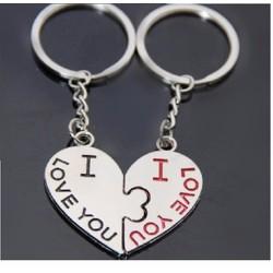 cặp 2 móc khóa tình yêu - tặng người yêu thì tuyệt