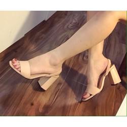 Giày đế vuông trơn - G05336