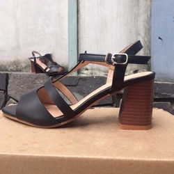 SD001D - Giày Sandal Cao Gót Cá Tính